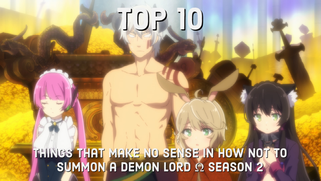 Featured image for Top 10 Things That Make No Sense in How Not to Summon a Demon Lord Ω Season 2