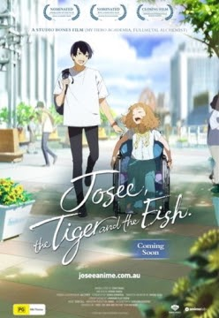 """Featured image for Anime On the Big Screen: """"Josee, the Tiger and the Fish"""""""