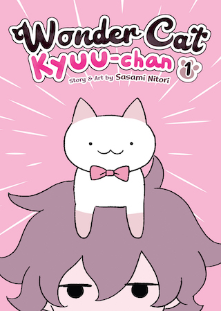 Featured image for Wonder Cat Kyuu-Chan Vol 1-2 Review
