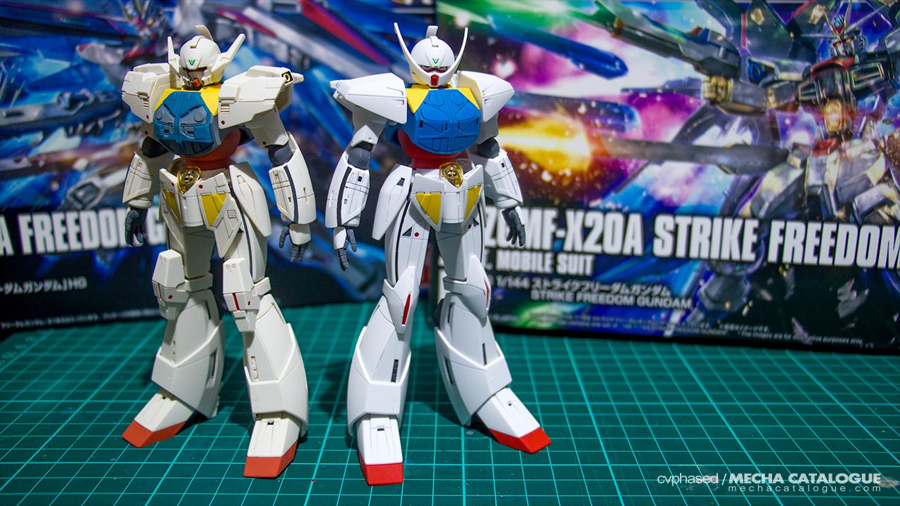 "Featured image for Dual Builds Complete! HGCC Turn ""A"" Gundam ✕ HGBF Turn ""A"" Gundam Shin"