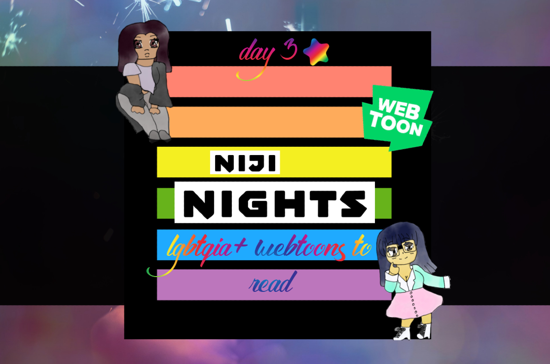 Featured image for Niji Nights Day 3: 5 LGBTQIA+ Webtoons to Read