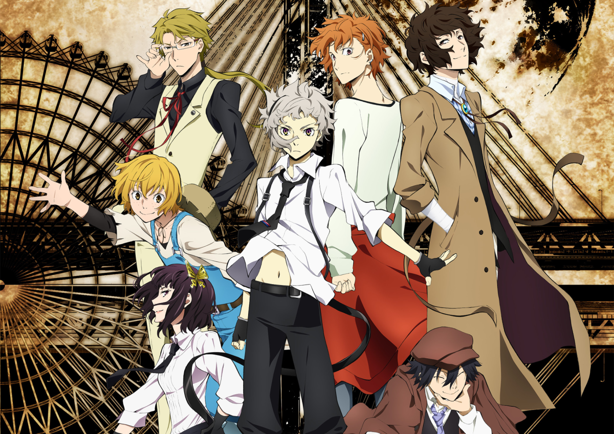 Featured image for Anime Review 187 Bungo Stray Dogs