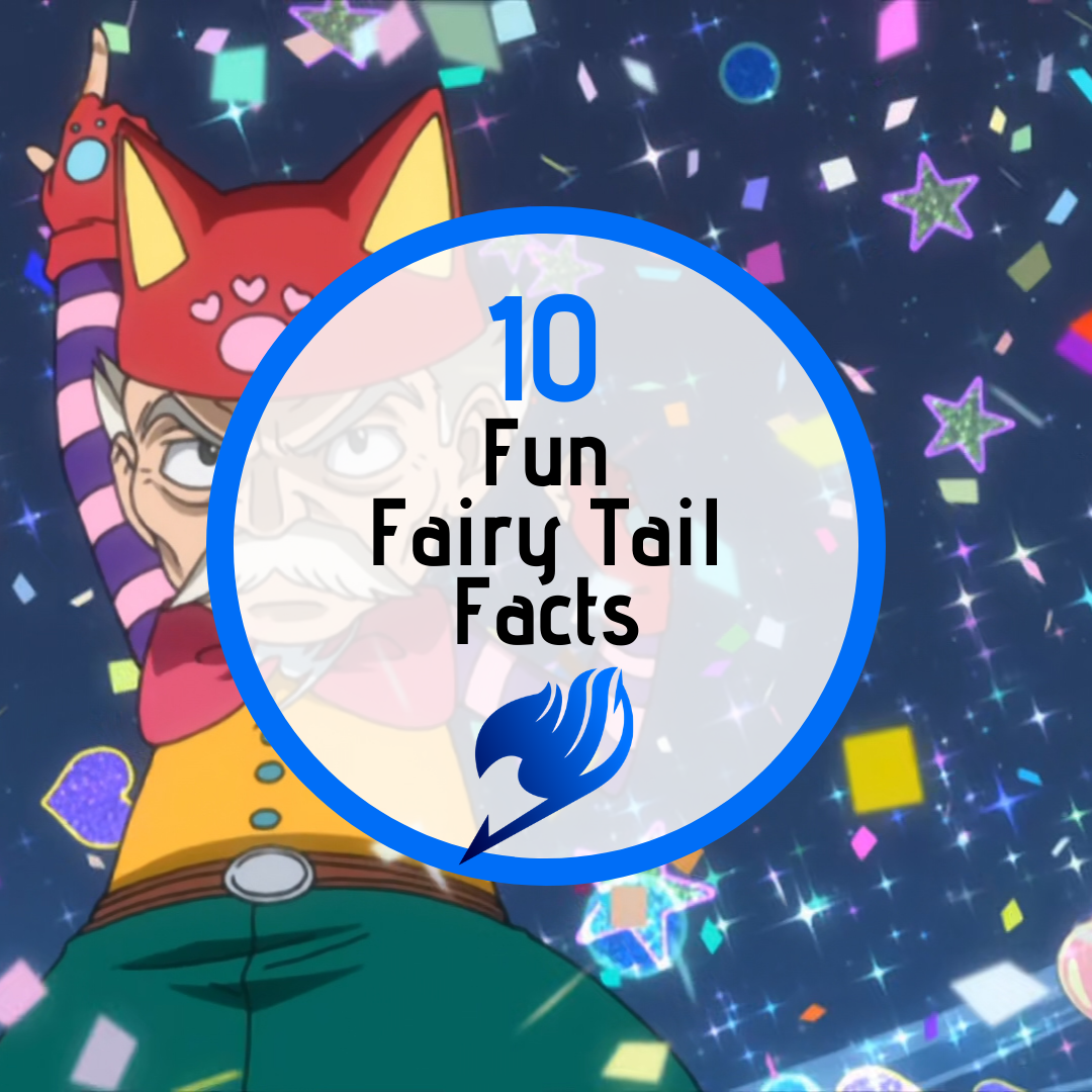 Featured image for 10 Fun Fairy Tail Facts