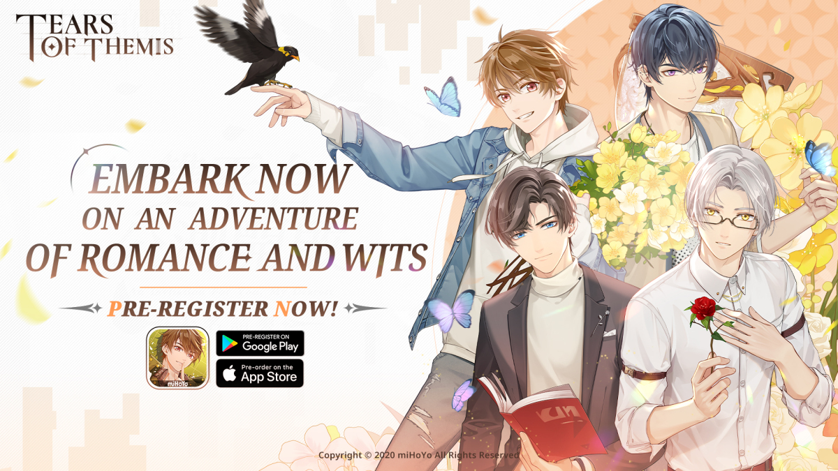 """Featured image for [Otome Watch] miHoYo's """"Tears of Themis"""" Pre-Registration Campaign Starts Now With a Summer 2021 Release Window!"""
