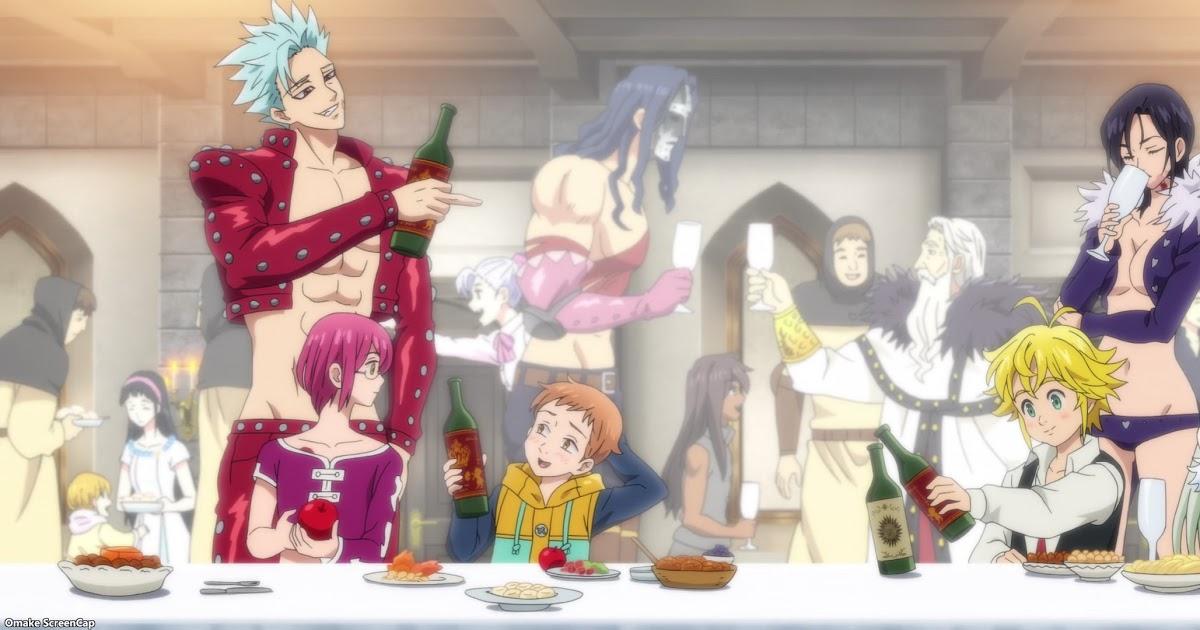 Featured image for Nanatsu no Taizai - Fundo no Shinpan - Episode 21 - Deadly Sins Celebrate