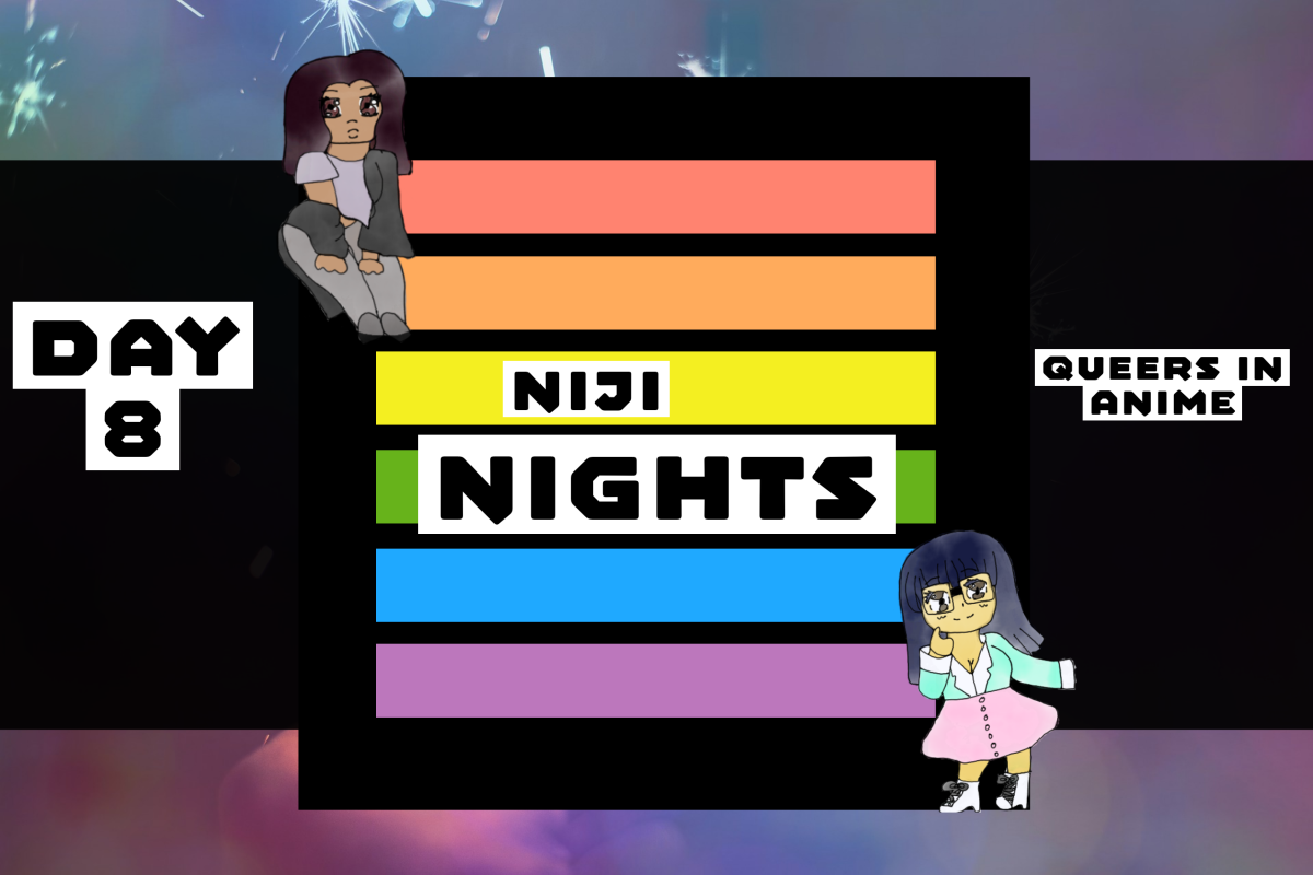 Featured image for Day 8 of Niji Nights: Queers in Anime