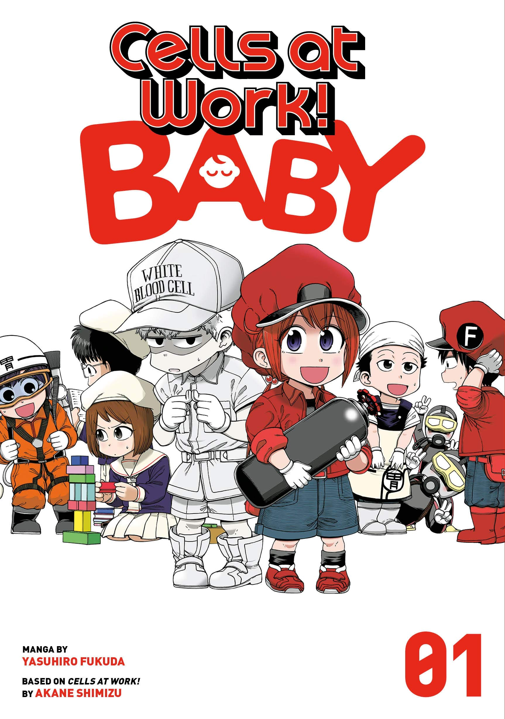 Featured image for Thoughts on Cells at Work! Baby Volume 1