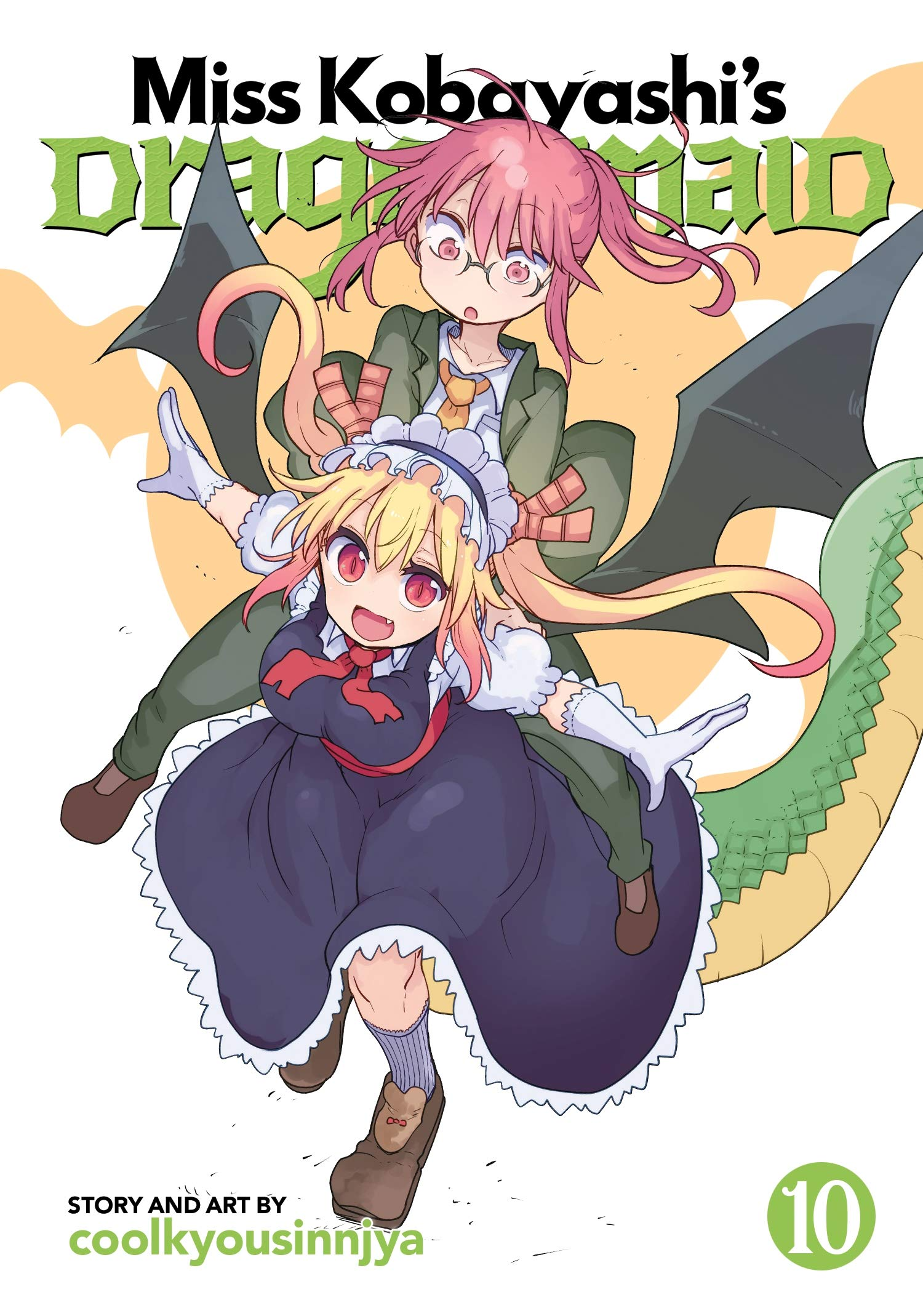 Featured image for Thoughts on Miss Kobayashi's Dragon Maid Volume 10
