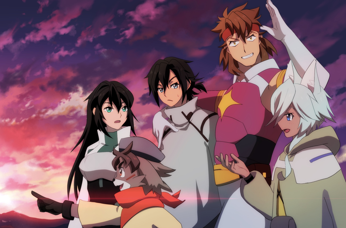Featured image for Anime Review 175 Gundam Build Divers Re:Rise