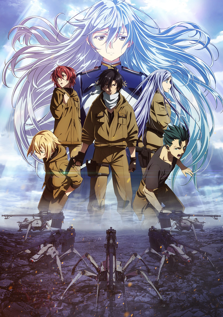 Featured image for 86: Eighty Six Anime Review 65/100
