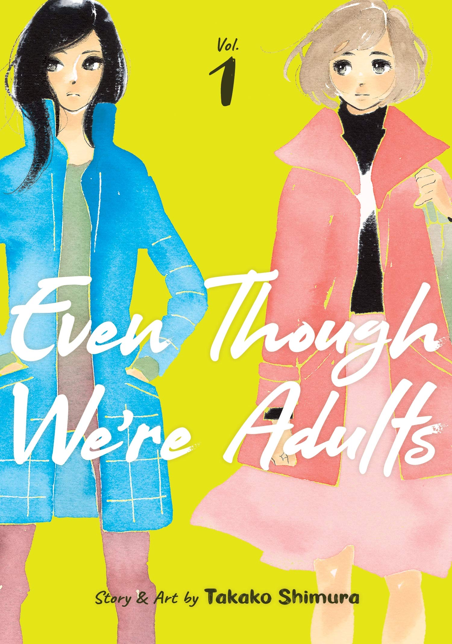 Featured image for Thoughts on Even Though We're Adults Volume 1