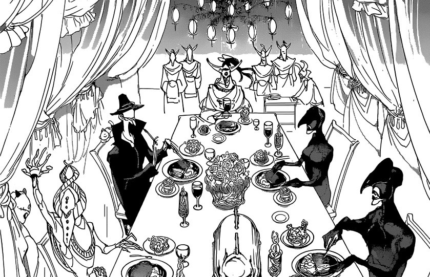 """Featured image for 13 Years for a Meal: Honorable Eating in """"The Promised Neverland"""""""