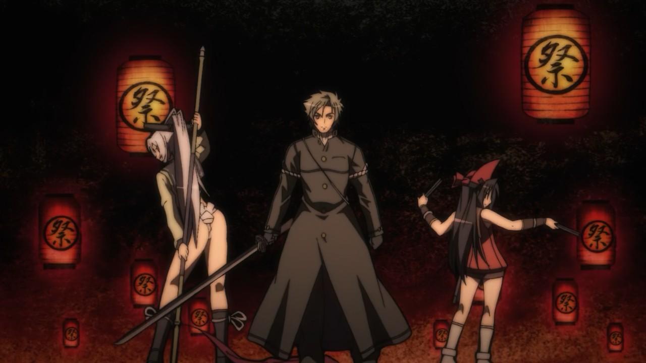 Featured image for Hyakka Ryouran: Samurai Girls (Episode 1) – The First Kiss