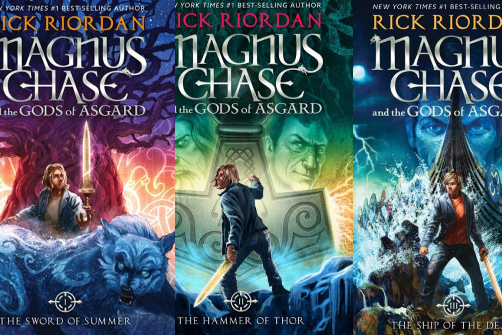 Featured image for Magnus Chase and the Gods of Asgard: Read it Before Ragnarök