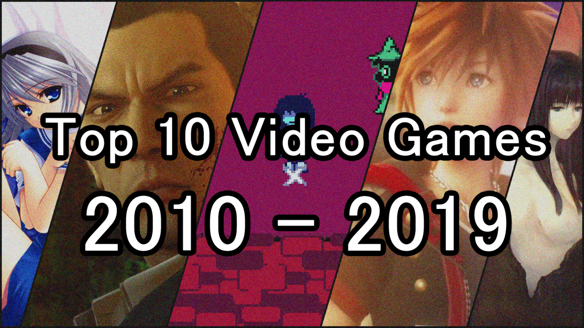 Featured image for Top 10 Video Games of the Decade