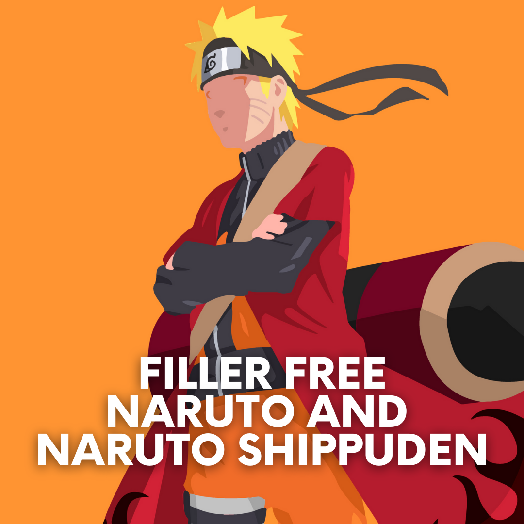 Featured image for Filler Free Naruto and Naruto Shippuden