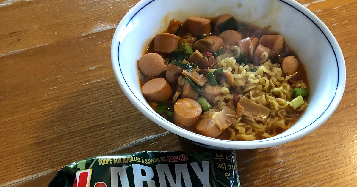 Featured image for Nongshim K-Army Stew Instant Ramen Review