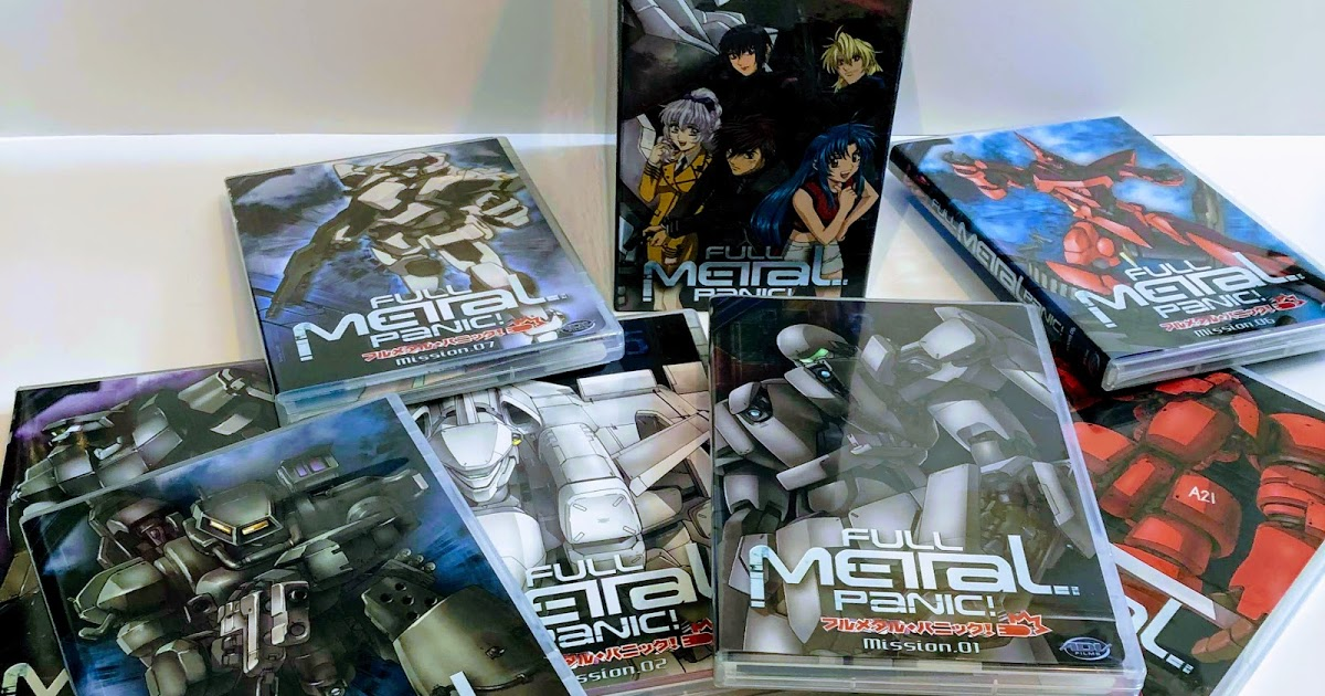 Featured image for Full Metal Panic! Aged Anime 2002 - Mecha Action