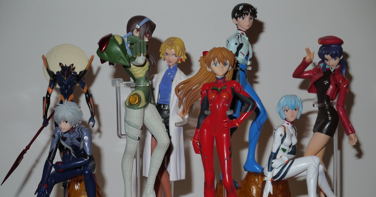 Featured image for Neon Genesis Evangelion. Aged Anime 1995- 1996.