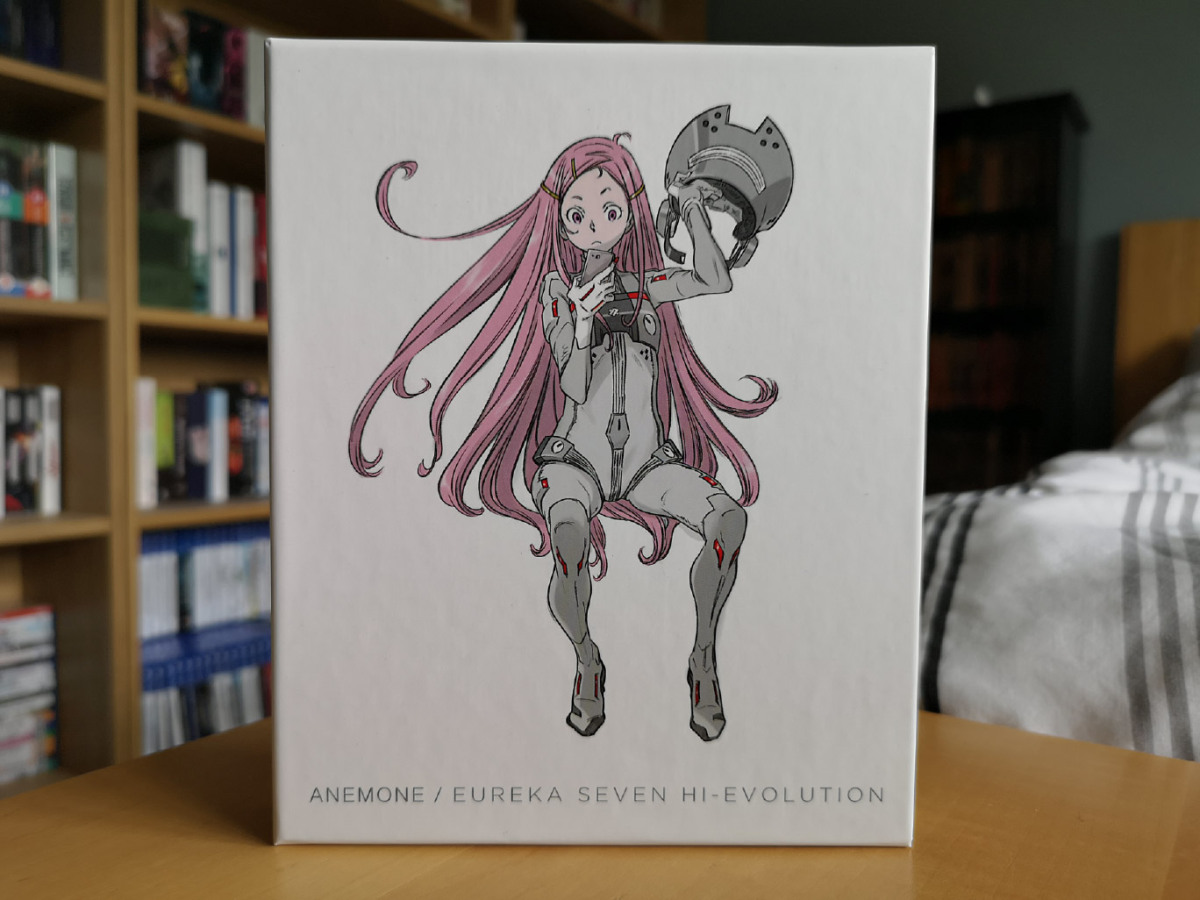 Featured image for Anemone: Eureka Seven Hi-Evolution (Collector's Edition Blu-ray & DVD) Unboxing