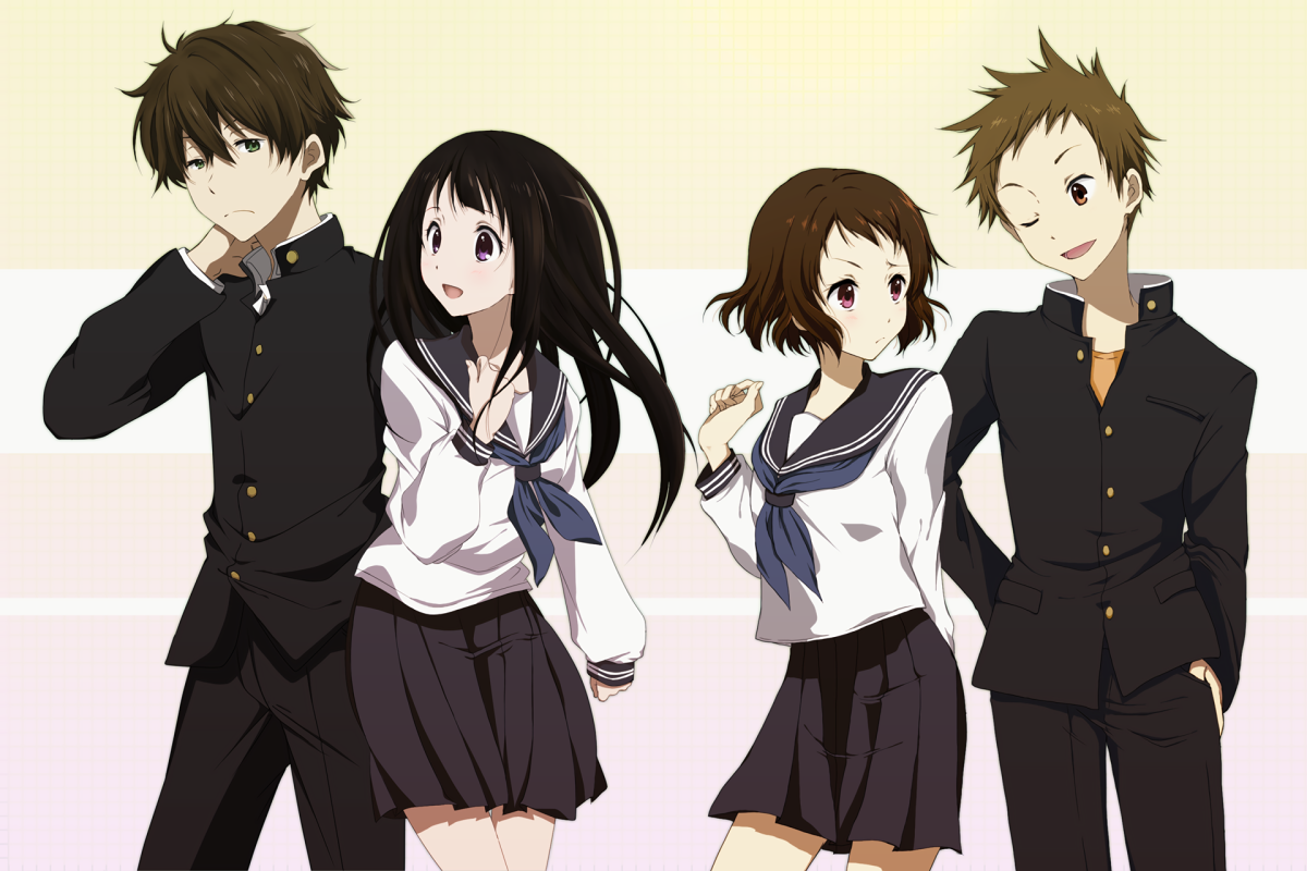 Featured image for Anime Review 195 Hyouka