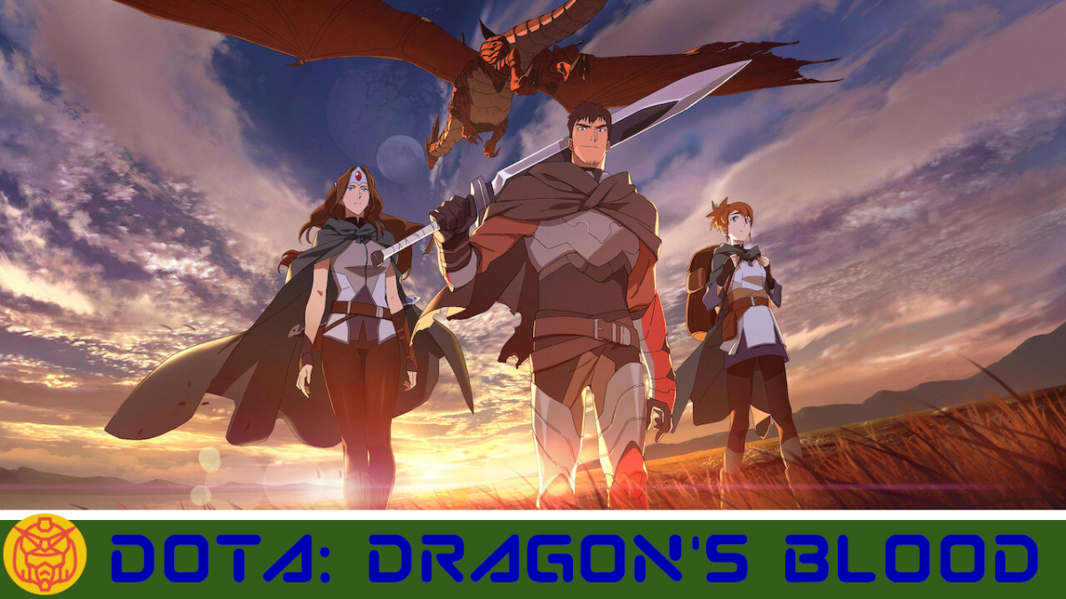Featured image for DOTA: Dragon's Blood – A Classic Fantasy Story