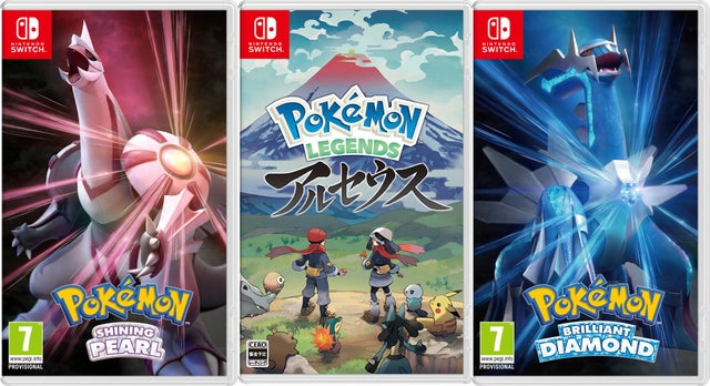 Featured image for New Pokemon Games released in November 2021 and early 2022