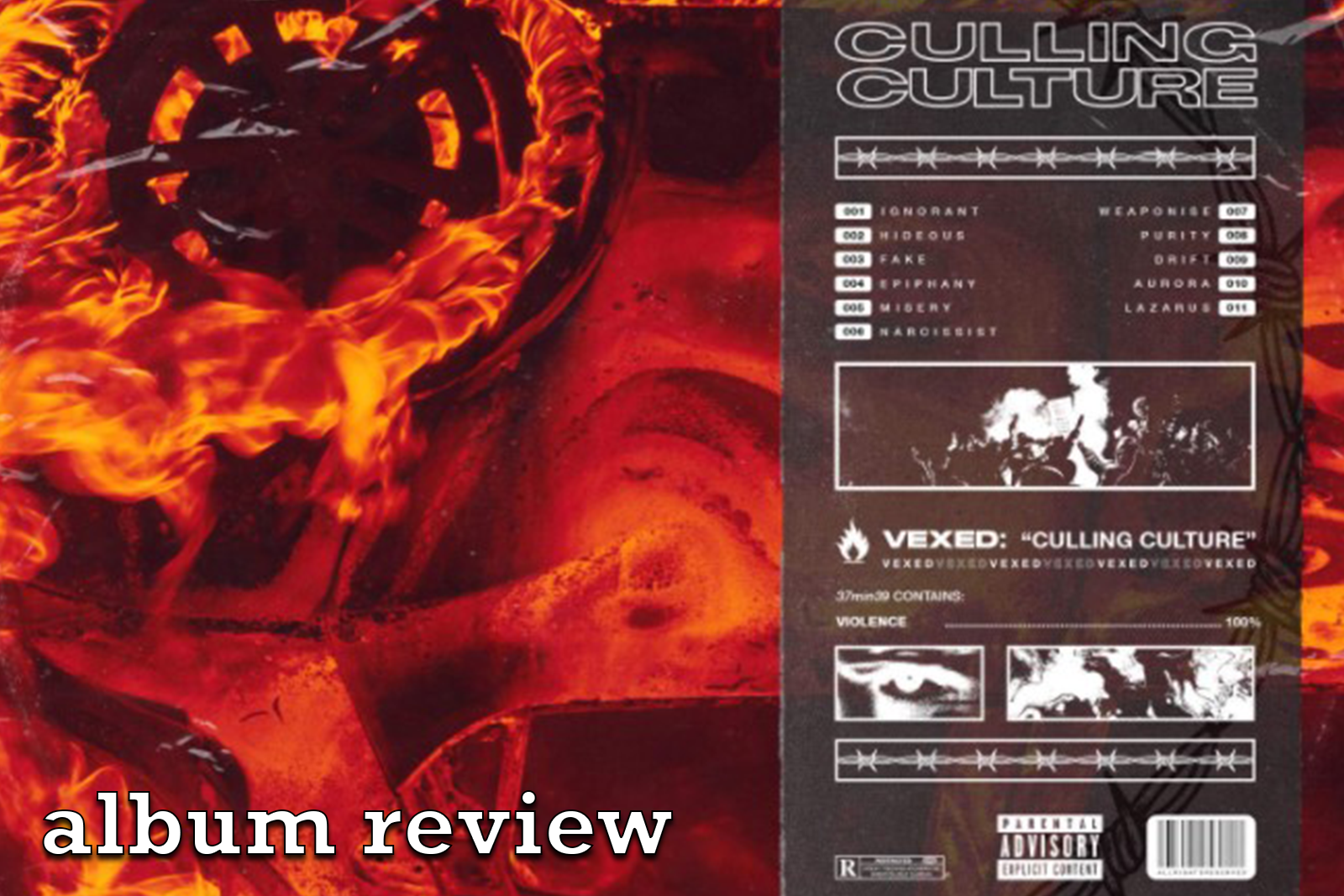Featured image for New Decade, New Edge: VEXED — Culling Culture Album Review