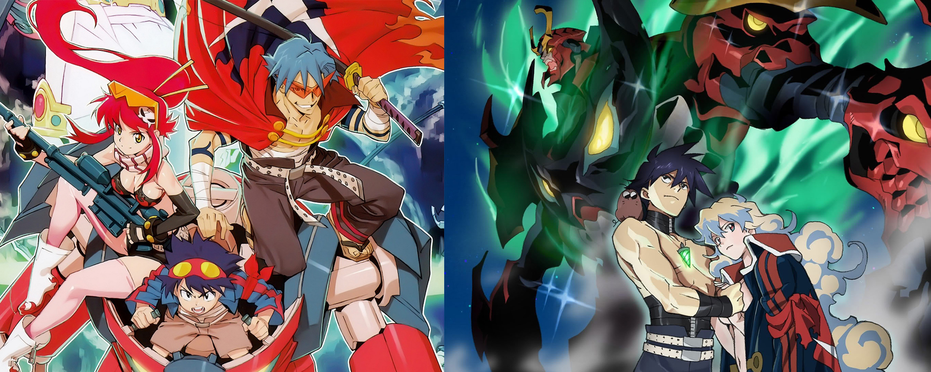Featured image for Otafu Susume 38 – Believing in the Movie That Believes in You (Gurren Lagann the Movies)