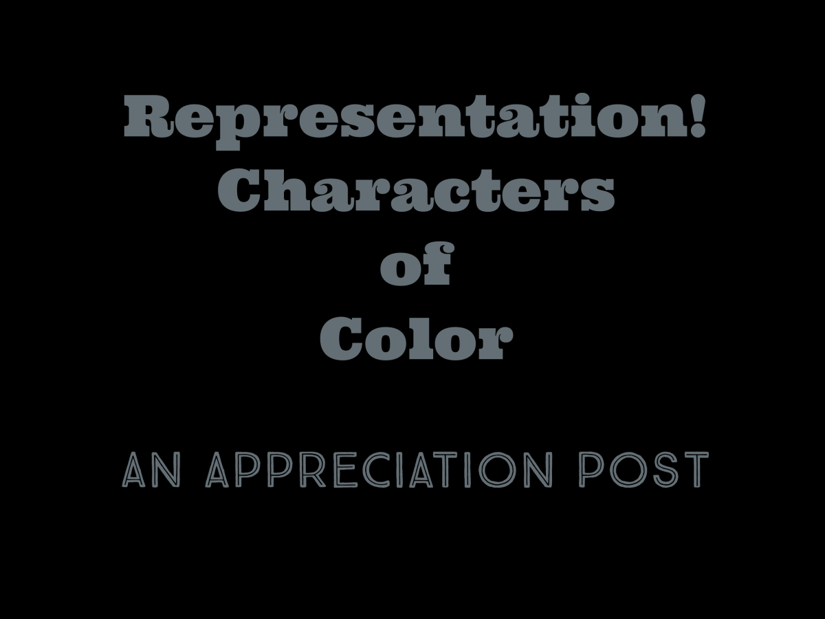 Featured image for Representation! Character of Color Part 2