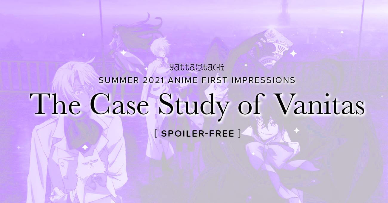 Featured image for The Case Study of Vanitas – Summer 2021 Anime First Impressions (Spoiler‑Free)