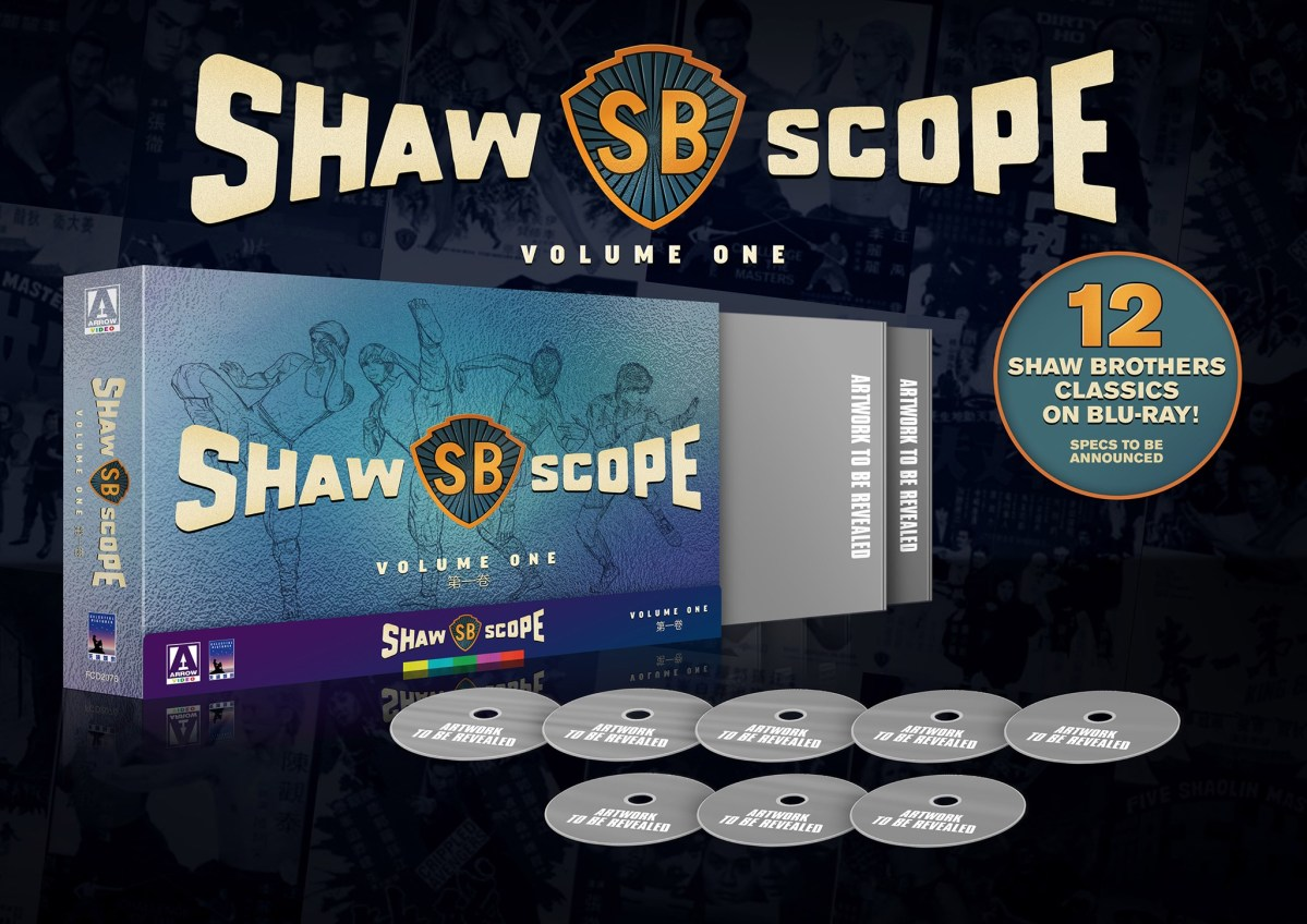 """Featured image for Arrow to Release """"Shawscope Volume One"""" Blu-ray Limited Edition Boxset!"""
