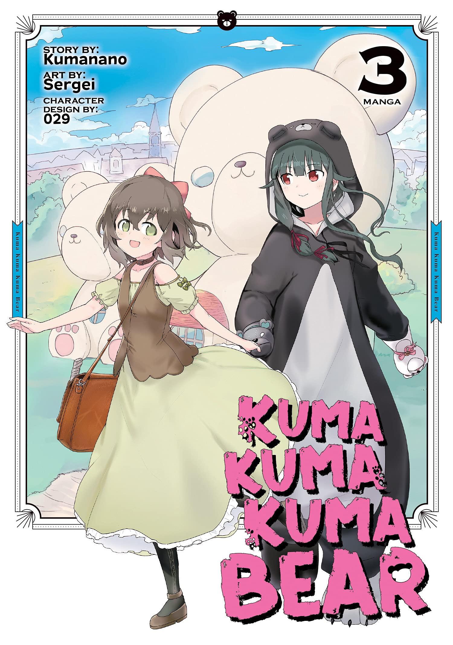 Featured image for Thoughts on Kuma Kuma Kuma Bear Volume 3 (Manga)