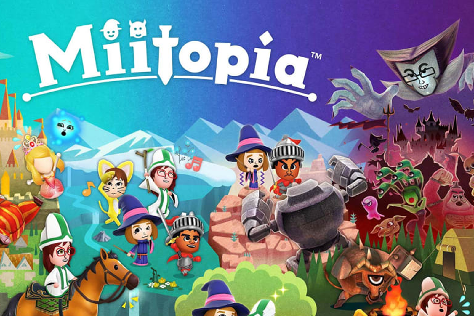 Featured image for Miitopia (Switch): Your Most Insane Fanfic Come to Life
