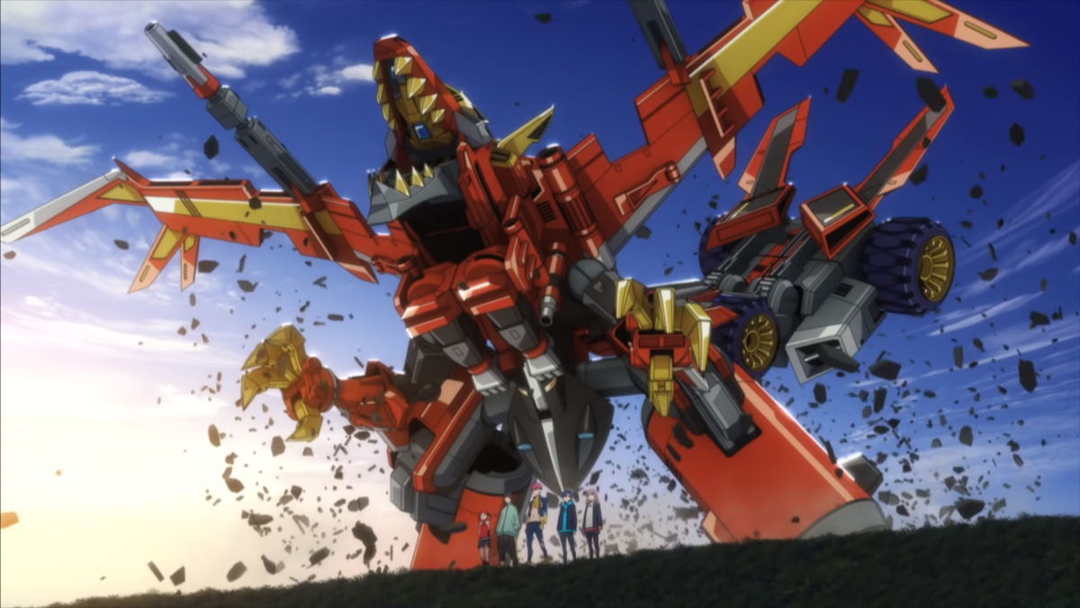 Featured image for Mecha Fans are Being Well-fed with SSSS.Dynazenon and Back Arrow