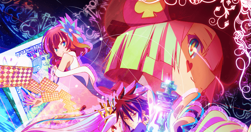 Featured image for Anime Review: No Game No Life