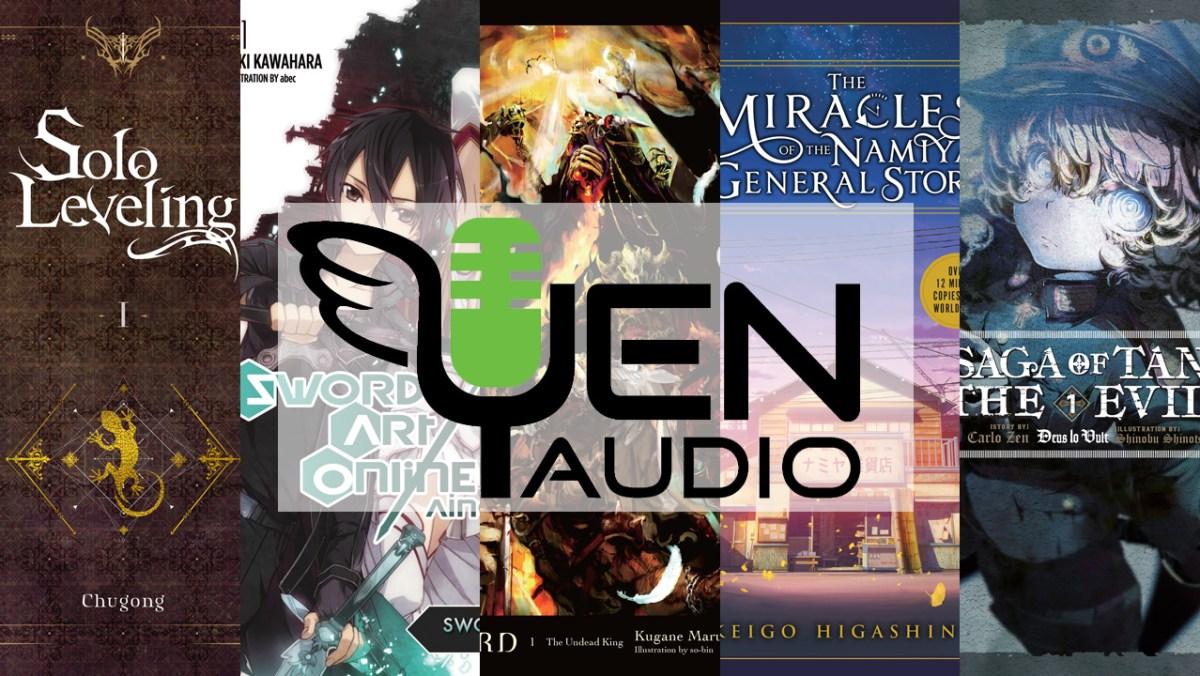 Featured image for Yen Press Announces Narrators for Yen Audio Launch Titles