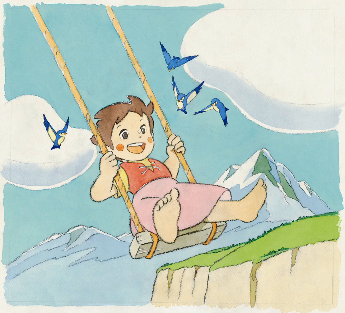 Featured image for Heidi, Girl of the Alps