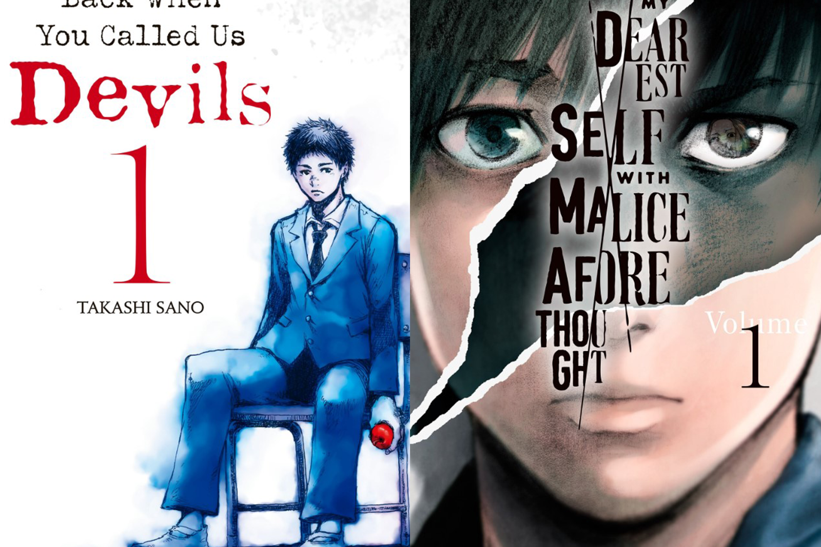 Featured image for Two First Impressions of Two Psychological Manga