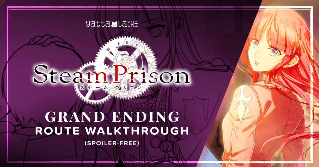 Featured image for Steam Prison – Grand Ending Walkthrough