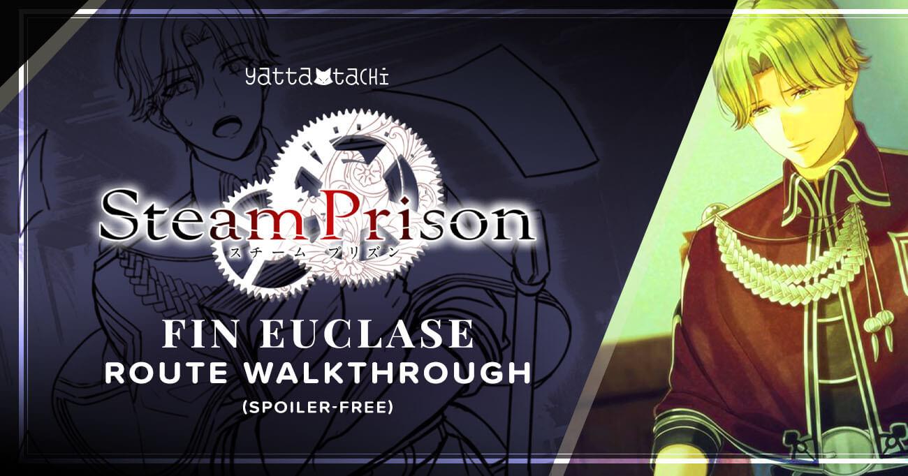 Featured image for Steam Prison – Fin Euclase Walkthrough