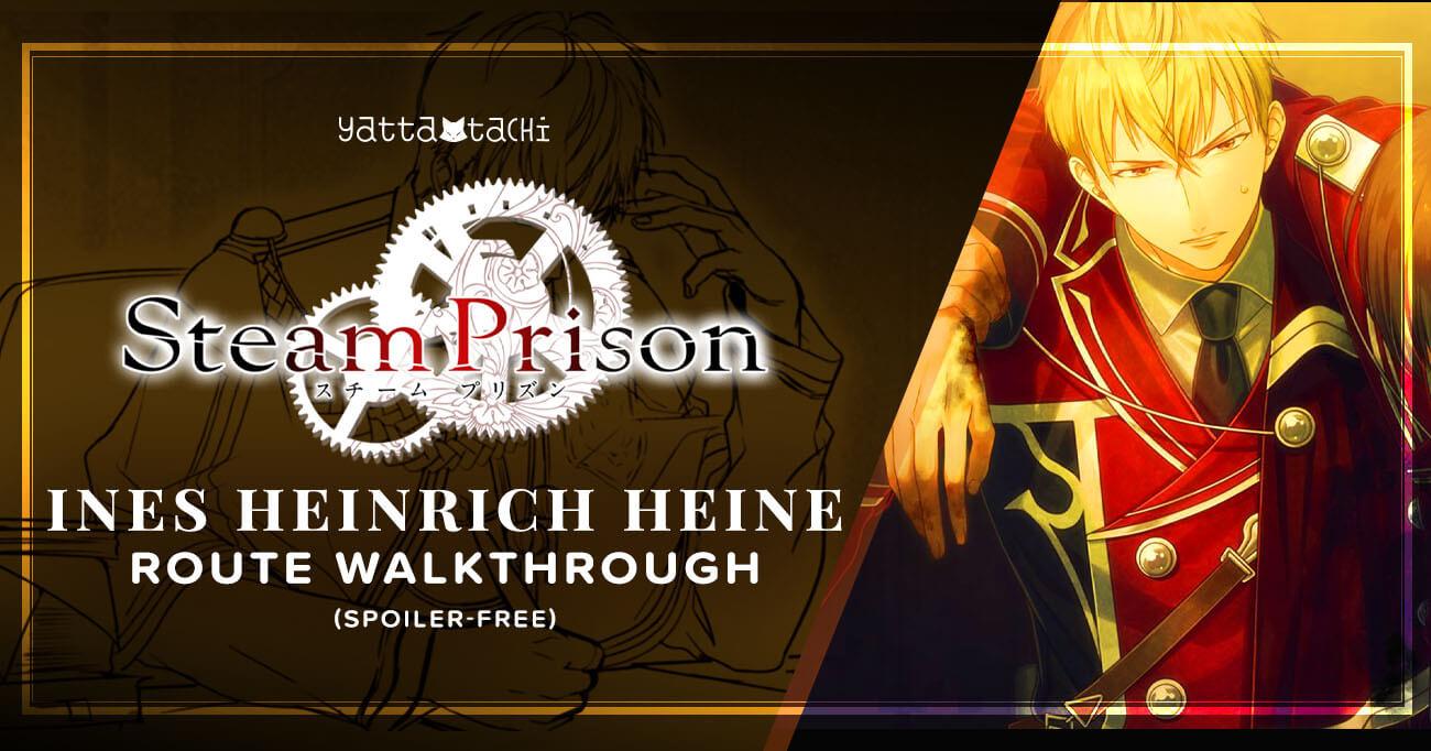 Featured image for Steam Prison – Ines Heinrich Heine Walkthrough