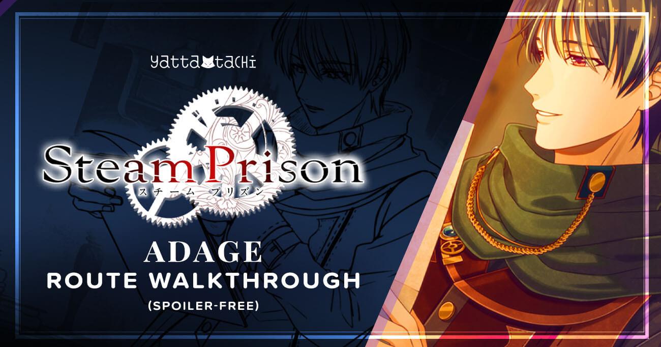 Featured image for Steam Prison – Adage Walkthrough