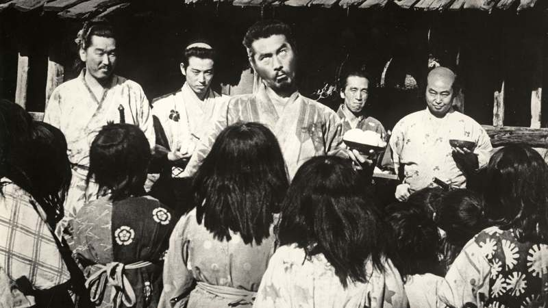 Featured image for Seven Samurai (1954)