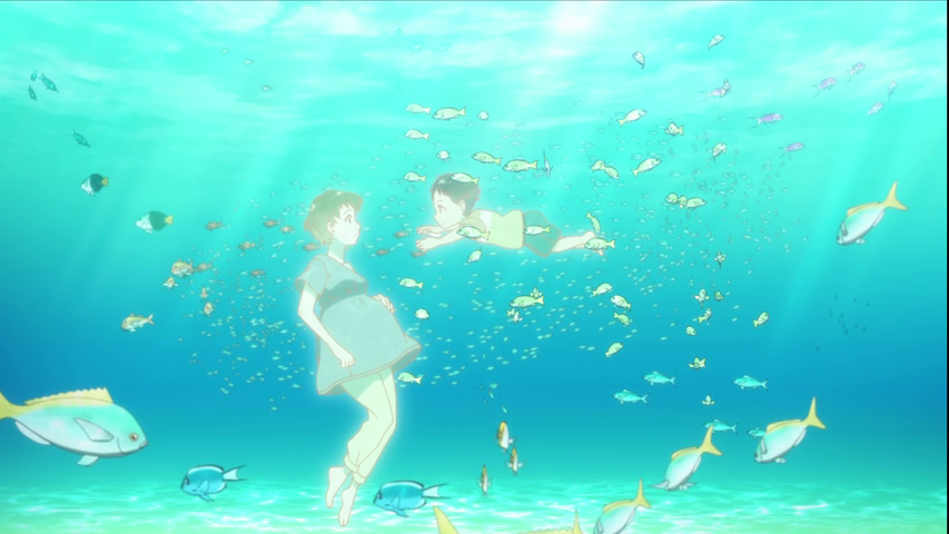 Featured image for Shiroi Suna no Aquatope – 02/ 03 [Getting Wet Is Part Of the Job/ Life Begins In the Ocean]