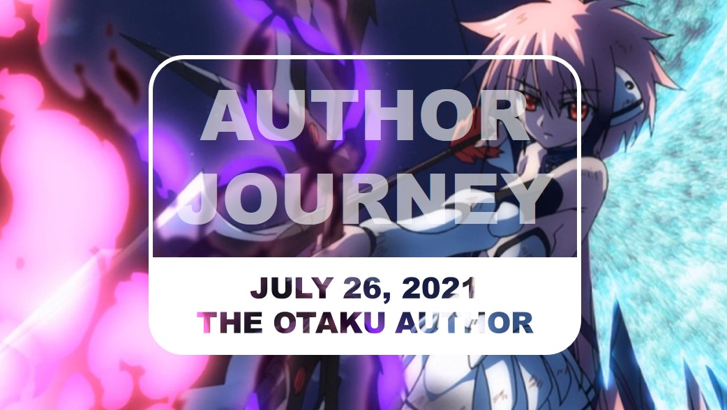 Featured image for Author Journey (July 26, 2021)