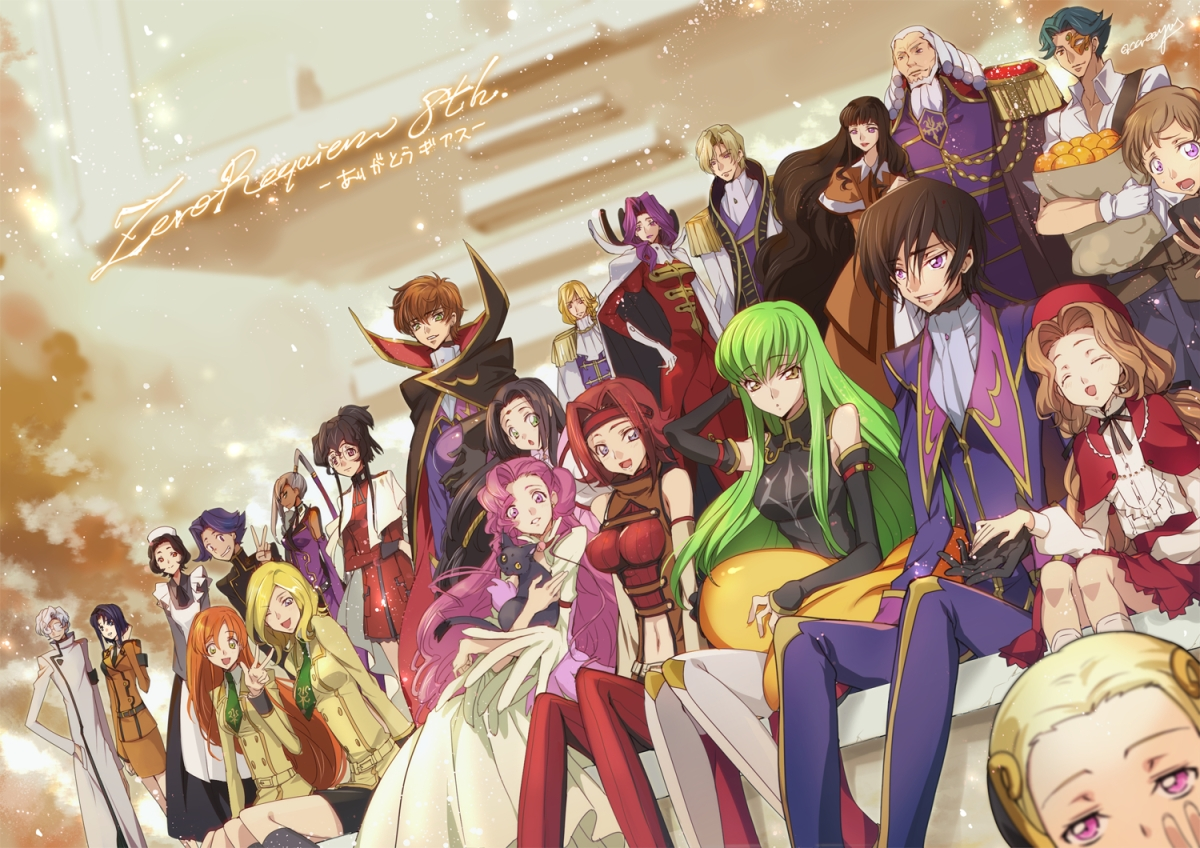 Featured image for Anime Review 22 Code Geass: Lelouch of the Rebellion (Redux)