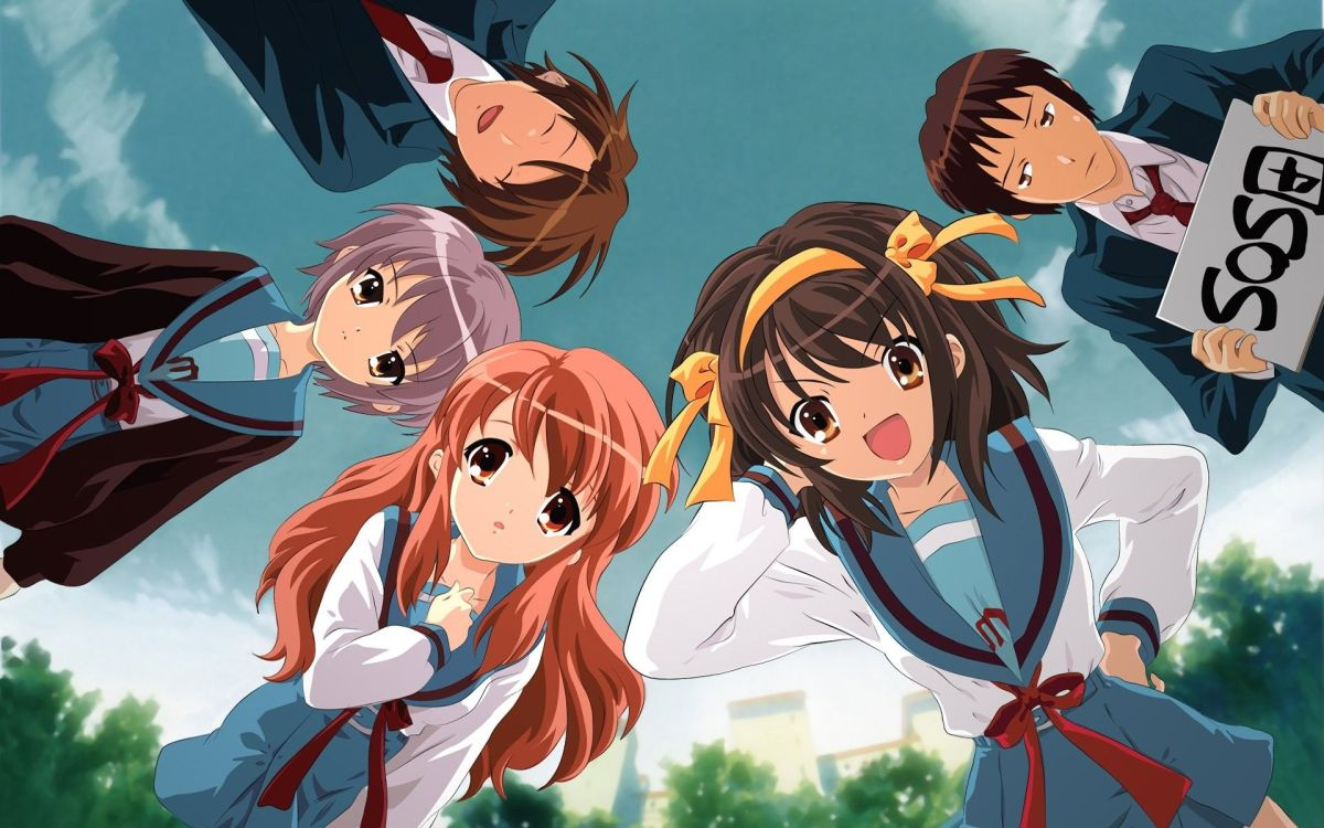 Featured image for Anime Review 196 The Melancholy of Haruhi Suzumiya