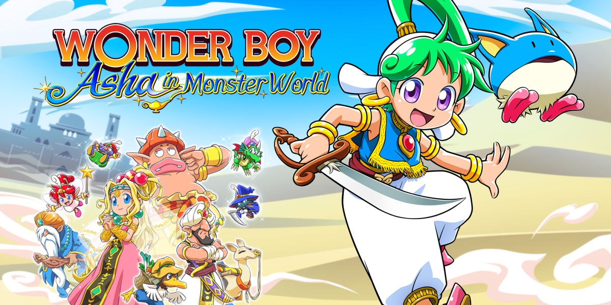Featured image for Wonder Boy: Asha in Monster World Review Link