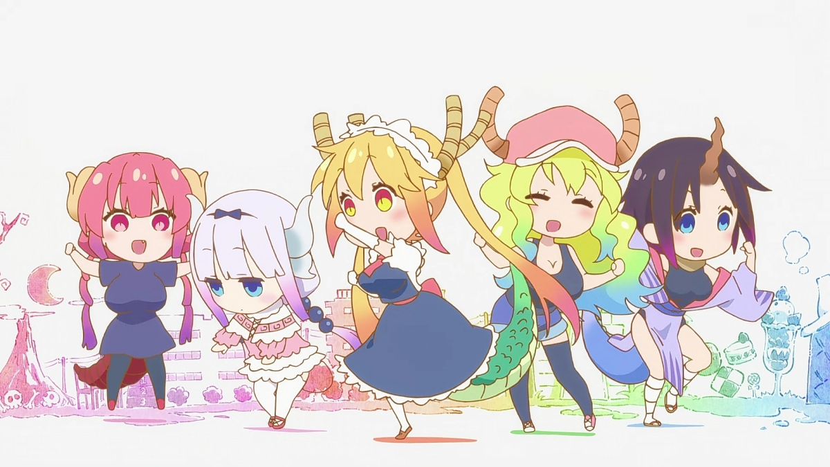 Featured image for KOBAYASHI SAN'S DRAGON MAID – EPISODE 2 Review